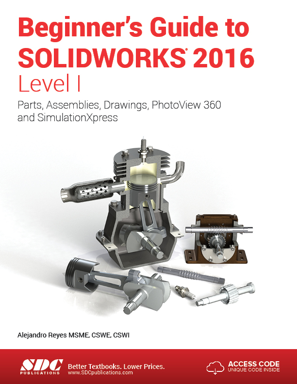 Beginner's Guide to SOLIDWORKS 2016 - Level II  pdf
